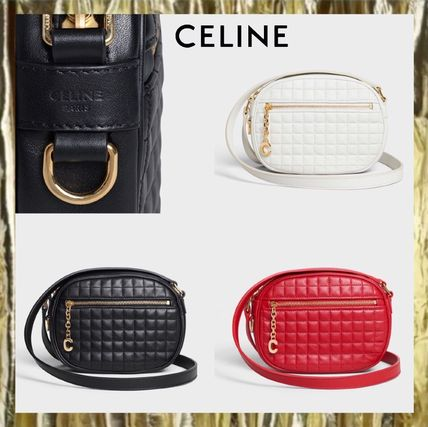 0c34c77d84 CELINE Women s Red Bags 2WAY Leather Kendall Jenner  Shop Online in ...