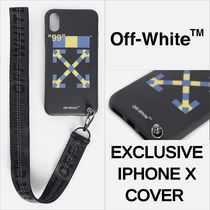 Off-White Unisex Street Style Collaboration Smart Phone Cases