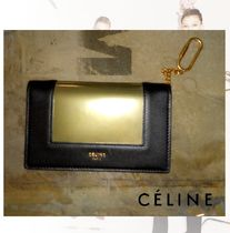 CELINE Frame Bi-color Coin Purses