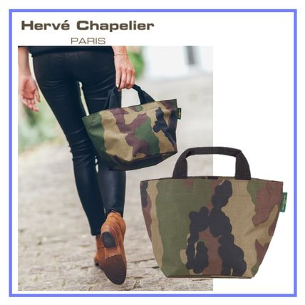 05fee5820b HERVE CHAPELIER Camouflage Casual Style Totes (1027W49) by ...