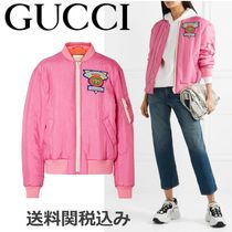 GUCCI Casual Style Plain Jackets