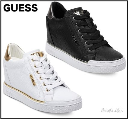 94030c3e025 Guess 2019 SS Platform Platform   Wedge Sneakers by BeautifulLife ...