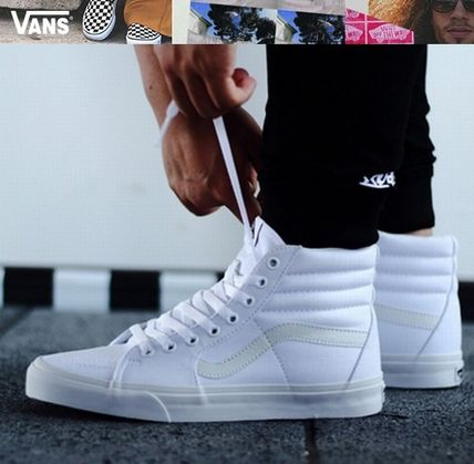 81a08456cd VANS SK8-HI Unisex Street Style Sneakers by Newyellow - BUYMA