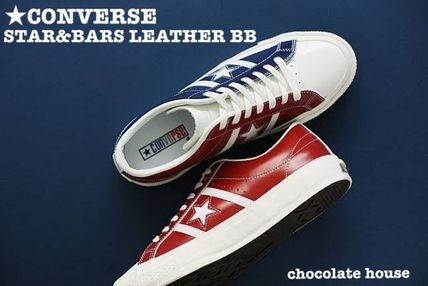 0aefc60a92f CONVERSE ONE STAR 2018-19AW Star Unisex Bi-color Leather Sneakers
