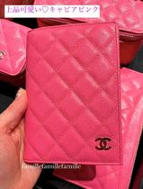 CHANEL Unisex Passport Cases