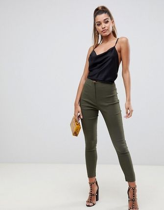 ASOS Casual Style Plain Medium Skinny Pants