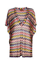 MISSONI V-Neck Medium Short Sleeves Tunics