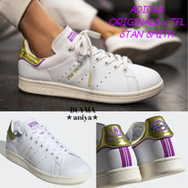 adidas STAN SMITH Casual Style Unisex Street Style Collaboration Plain Leather