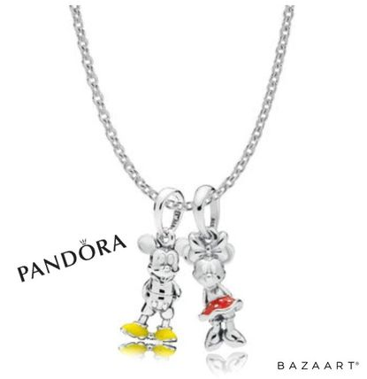 Casual Style Chain Silver Necklaces & Pendants
