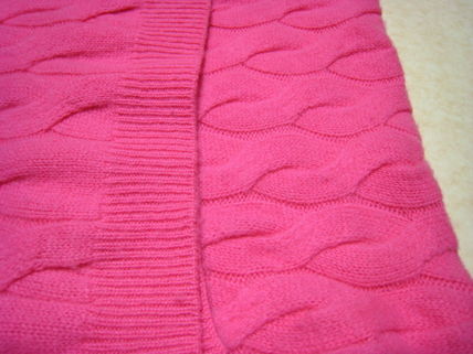 Casual Style Cashmere Plain Handmade Accessories
