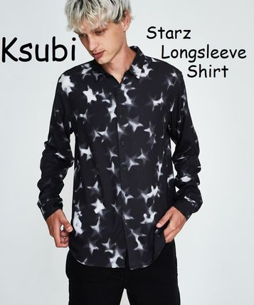 Star Street Style Long Sleeves Shirts