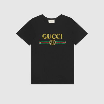 9e5601d360c GUCCI 2019 Cruise Crew Neck Cotton Short Sleeves T-Shirts (492347 ...