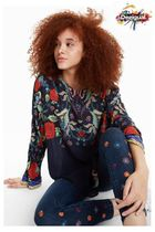 Desigual Casual Style Long Sleeves Shirts & Blouses