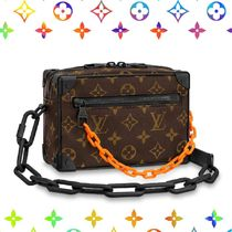 Louis Vuitton MONOGRAM Monogram Unisex Blended Fabrics Street Style Collaboration