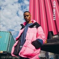 Off-White Unisex Street Style Down Jackets