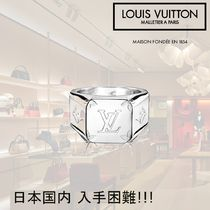Louis Vuitton MONOGRAM Silver Rings