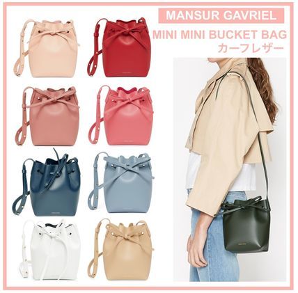 MANSUR GAVRIEL Bucket Bag Mini Mini / Calf leather
