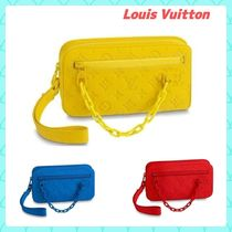 Louis Vuitton TAURILLON Monogram Casual Style Unisex Street Style Bag in Bag 2WAY