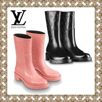 Louis Vuitton Monogram Rubber Sole Plain Rain Boots Boots 02e250dbf7ed4