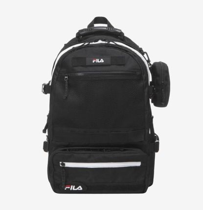 FILA 2019 SS Casual Style Unisex Street Style A4 Backpacks by cmik ...