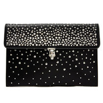 alexander mcqueen Leather Party Style Clutches
