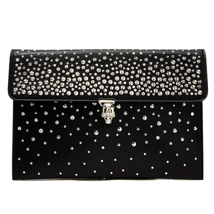 Leather Party Style Clutches