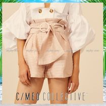 Cameo the Label Short Stripes Linen Party Style Shorts