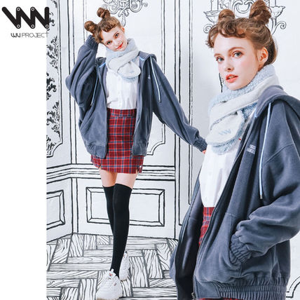 c43662cf37 ... WV PROJECT More Outerwear Casual Style Unisex Street Style  Collaboration Plain Medium ...