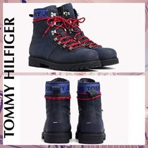 Tommy Hilfiger Mountain Boots Suede Plain Outdoor Boots