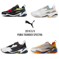 PUMA THUNDER SPECTR Unisex Street Style Bi-color Sneakers