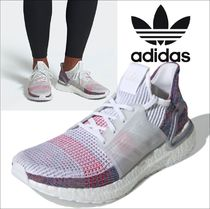 adidas ULTRA BOOST Other Check Patterns Unisex Blended Fabrics Street Style