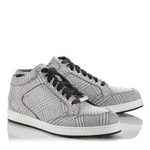 Jimmy Choo Other Check Patterns Low-Top Sneakers