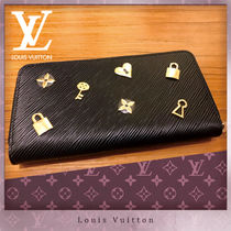 Louis Vuitton ZIPPY WALLET Unisex Leather Long Wallets
