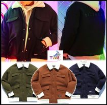TWN Casual Style Unisex Street Style Outerwear