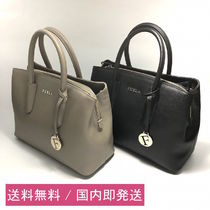 FURLA Saffiano Plain Handbags