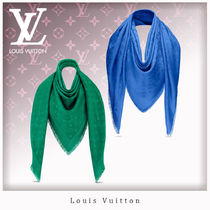 Louis Vuitton Monogram Wool Blended Fabrics Accessories