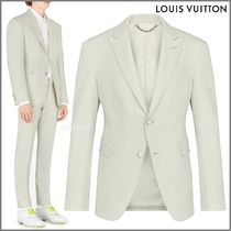 Louis Vuitton Blended Fabrics Street Style Plain Blazers Jackets