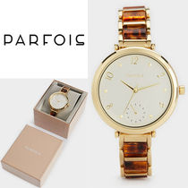 PARFOIS Casual Style Round Jewelry Watches Analog Watches