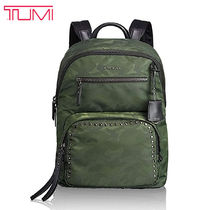 TUMI Camouflage Casual Style Nylon Street Style A4 Backpacks