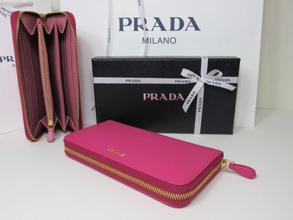Saffiano Long Wallets