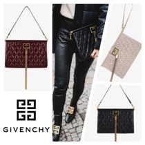 GIVENCHY Tassel 3WAY Party Style Fringes Handbags