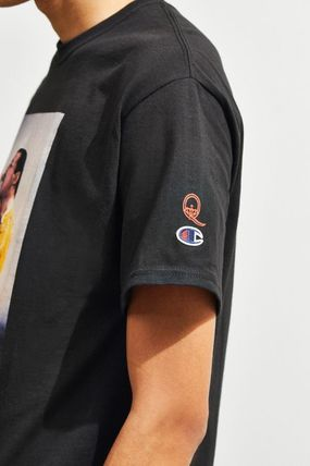 CHAMPION Long Sleeve Street Style Collaboration Long Sleeves Cotton 4