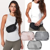 lululemon Casual Style Unisex Plain Shoulder Bags