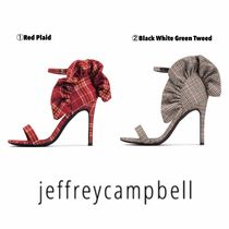 Jeffrey Campbell Other Check Patterns Open Toe Pin Heels Heeled Sandals