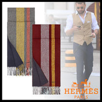 HERMES Cashmere Fringes Accessories
