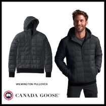 CANADA GOOSE Short Street Style Plain Down Jackets