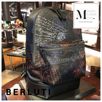 Berluti Calfskin Backpacks