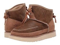 UGG Australia Round Toe Casual Style Fur Plain Ankle & Booties Boots