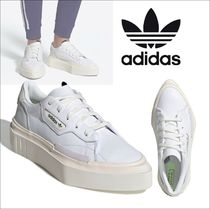 adidas SUPERSTAR Other Check Patterns Unisex Faux Fur Street Style