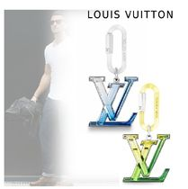 Louis Vuitton Logo Keychains & Holders